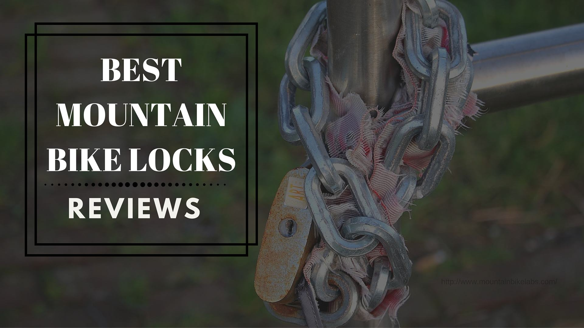 best mountain bike locks